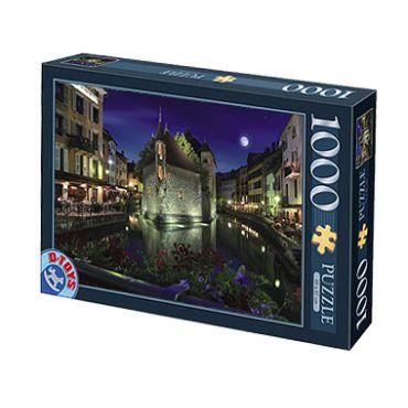 Puzzle 1000 pcs Peisaje de noapte-6