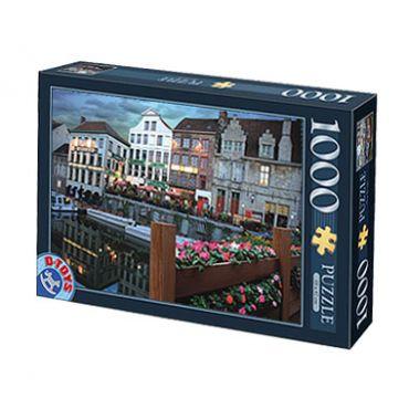 Puzzle 1000 pcs Peisaje de noapte-2