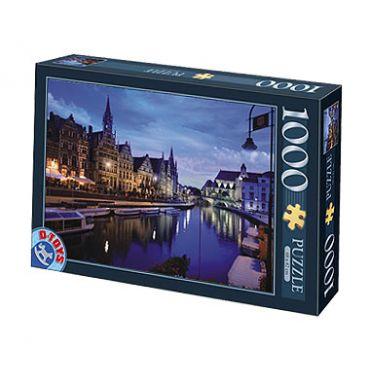 Puzzle 1000 pcs Peisaje de noapte-3