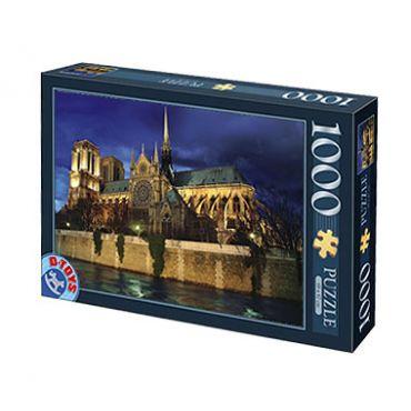 Puzzle 1000 pcs Peisaje de noapte-8