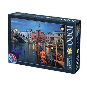 Puzzle 1000 pcs Peisaje de noapte-4