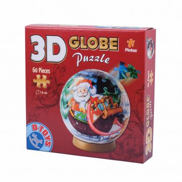 Puzzle Special Globe - Crăciun - 60 Piese - 2