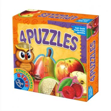 4 Puzzles - Fructe
