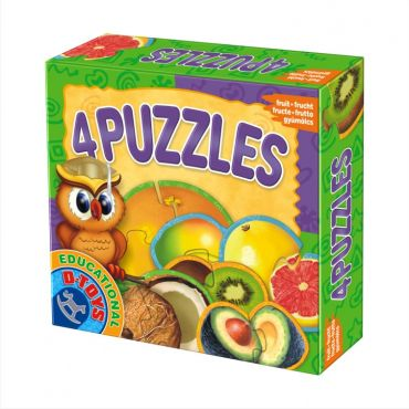 4 Puzzles - Fructe Exotice