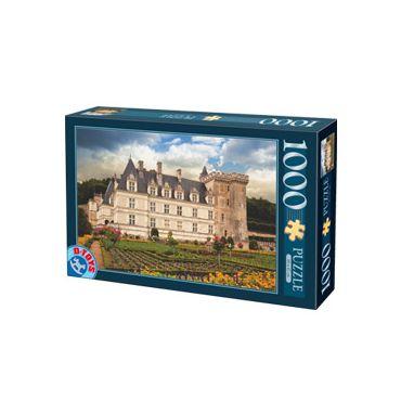 Puzzle 1000 pcs Castele franceze-2