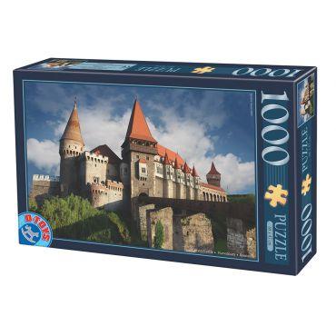 Puzzle - Imagini din Romania - Castelul Corvin Hunedoara - Ziua - 1000 Piese