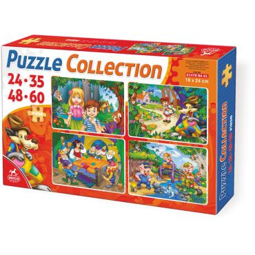 Puzzle Collection Basme 24-35-48-60 - 1