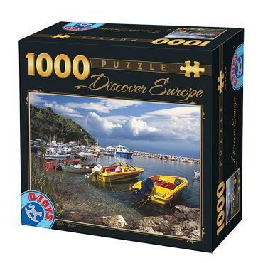 Puzzle - Descoperă Europa - 1000 Piese - 3