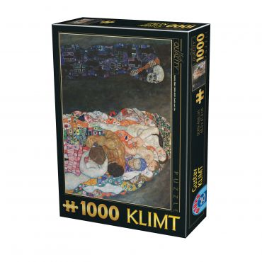 Puzzle Gustav Klimt - Death and Life - 1000 Piese