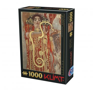 Puzzle Gustav Klimt - Hygieia - 1000 Piese