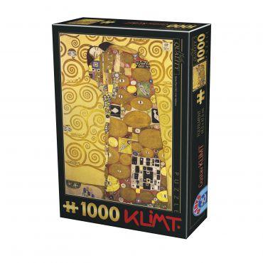 Puzzle Gustav Klimt - Fulfilment - 1000 Piese