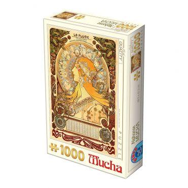 Puzzle 1000 Alphonse Mucha 02