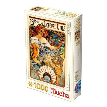 Puzzle 1000 Alphonse Mucha 04