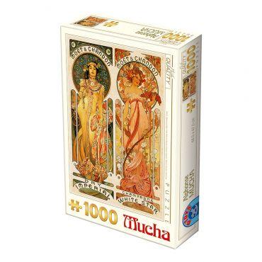 Puzzle 1000 Alphonse Mucha 05