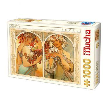 Puzzle 1000 Alphonse Mucha 06
