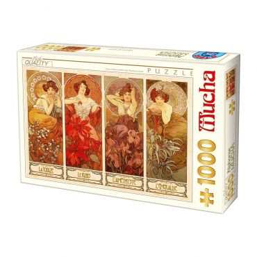 Puzzle 1000 Alphonse Mucha 07
