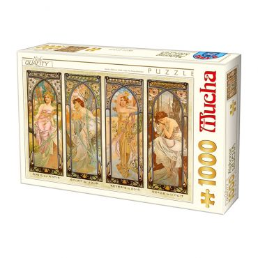 Puzzle 1000 Alphonse Mucha 08