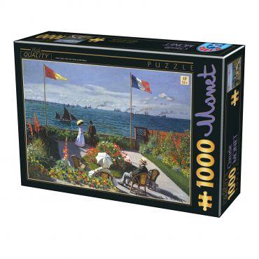 Puzzle Claude Monet - Garden at Sainte-Adresse - 1000 Piese
