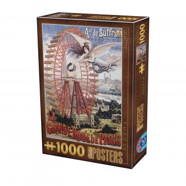 Puzzle - Vintage Posters - 1000 Piese - 18
