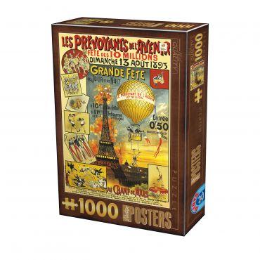 Puzzle - Vintage Posters - 1000 Piese - 20
