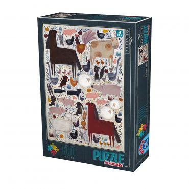 Puzzle Kürti Andrea - Animals - 500 Piese - 1