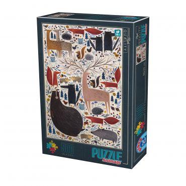 Puzzle Kürti Andrea - Animals - 500 Piese - 2