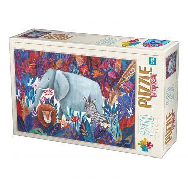 Puzzle Kürti Andrea - Tropical - 240 Piese - 1