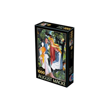 Puzzle 1000 August Macke 01