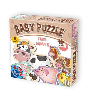 Baby Puzzle Farm Animals