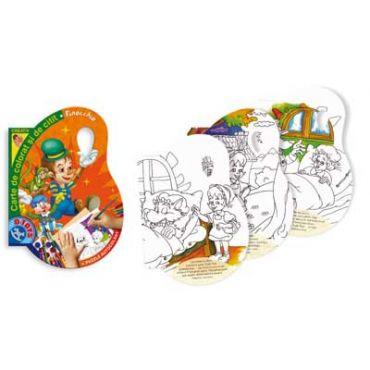Carte de Colorat și Citit - Pinocchio