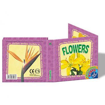 """Carte Pliantă """"Flori"""""""