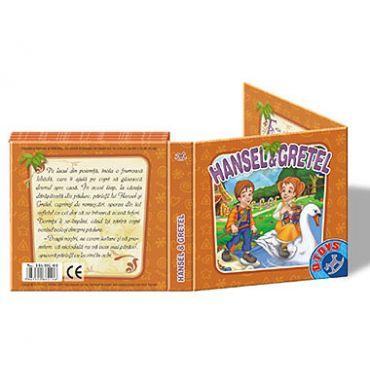"""Carte Pliantă """"Hansel și Gretel"""""""