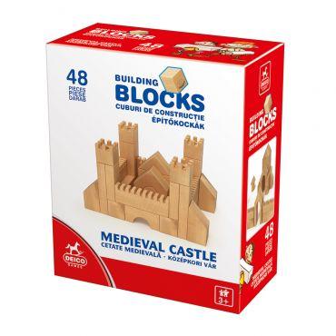 Cetate medievală - cuburi construcție 48 piese