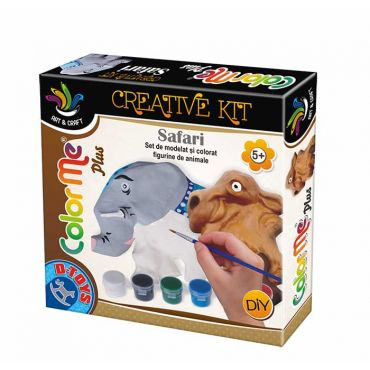 Color Me Plus Safari - Elefant și Cămilă