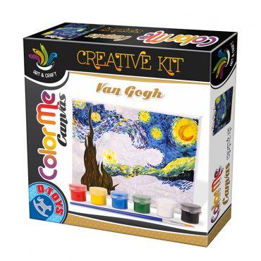 Color Me Canvas Van Gogh - Starry Night
