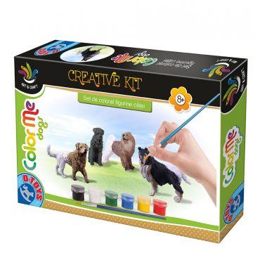 Color Me Dogs - Set de colorat figurine căței