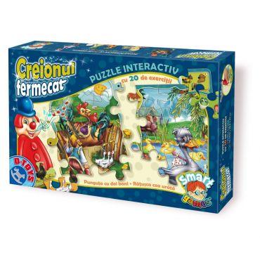 Creionul Fermecat - Interactiv Puzzle