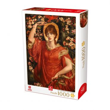 Puzzle Dante Gabriel Rossetti - A Vision of Fiammetta - 1000 Piese
