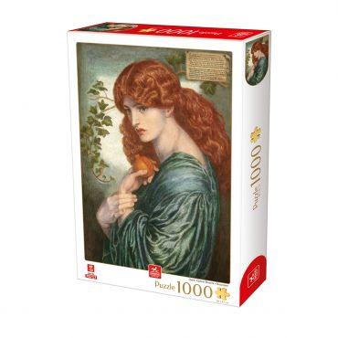 Puzzle Dante Gabriel Rossetti - Proserpine - 1000 Piese