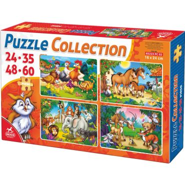 Puzzle Collection Animale 24-35-48-60 - 2