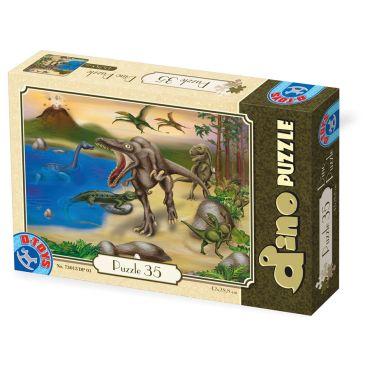 Puzzle 35 Dinozauri - 1