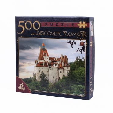 Puzzle 500 Piese Discover Romania - 1