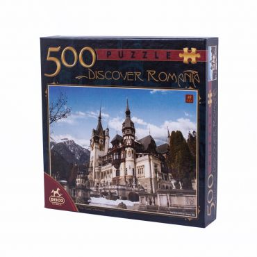 Puzzle 500 Piese Discover Romania - 2