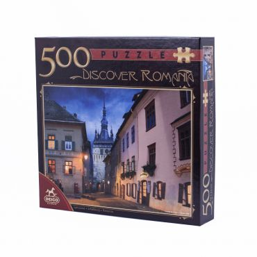 Puzzle 500 Piese Discover Romania - 4