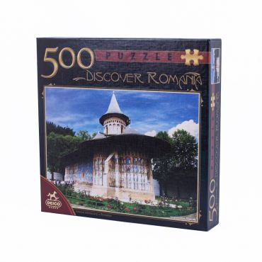 Puzzle 500 Piese Discover Romania - 3