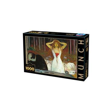 Puzzle 1000 Edvard Munch 02