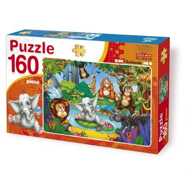 Puzzle 160 Piese Animale - 4
