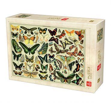 Encyclopedia Puzzle - Butterflies - 1000 piese