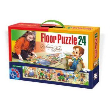 Floor Puzzle - Basme - 24 Piese - 2