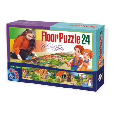 Floor Puzzle - Basme - 24 Piese - 4